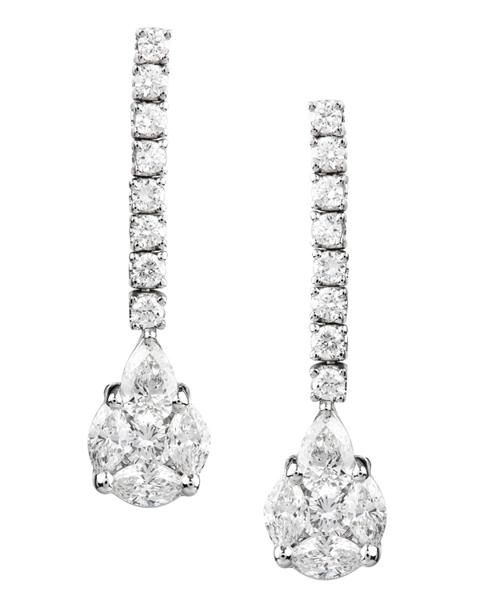 Photo of Brilliant diamond earrings