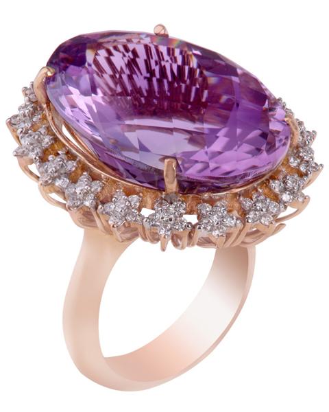 photo of amethyst ring