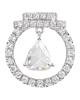 Women's White Stone pendant
