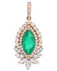 photo of emerald pendant