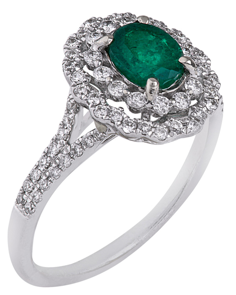 photo of emerald ring