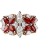 photo of marquise cut songea ruby ring
