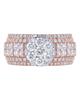 photo of princess cut diamond ring