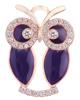 photo of purple owl pendant