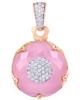 photo of quartz pendant