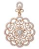 photo of diamond pendant