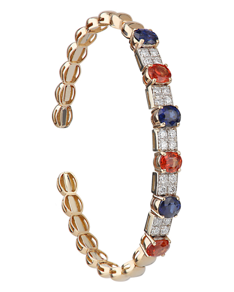 Photo of Ruby and Sapphire bracelet