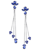 photo of sapphire earrings