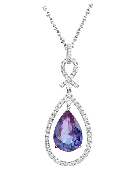 Photo of Alexandrite pendant