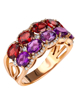 Photo of Garnet and Amethyst Ring
