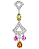 Photo of multi colour stone pendant