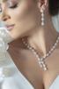 jewellery set on model