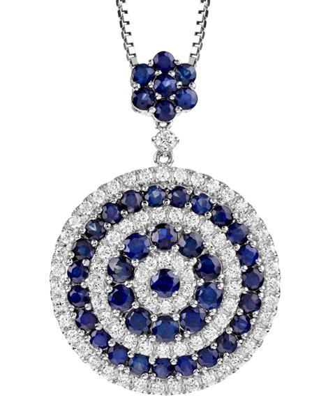 Photo of Sapphire and Diamond pendant