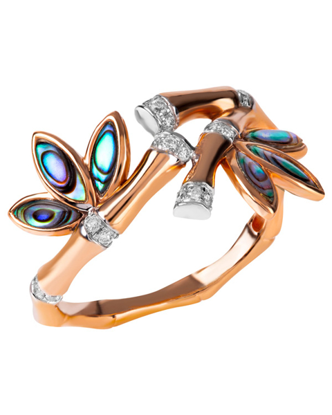 Photo of Fancy Cut Abalone Shell Ring
