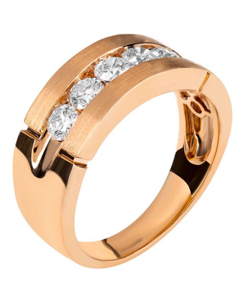 Photo of Rose Gold Diamond Ring