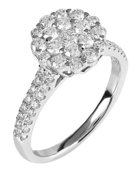 Photo of Brilliant diamond ring
