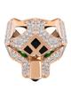 Leopard rose gold Ring
