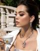 women's jewellery ruby necklace