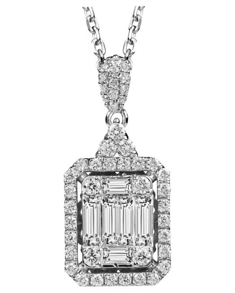 photo of Baguette pendant