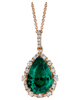 Photo of Gilson Emerald pendant