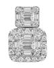 Photo of Diamond baguette cut pendant