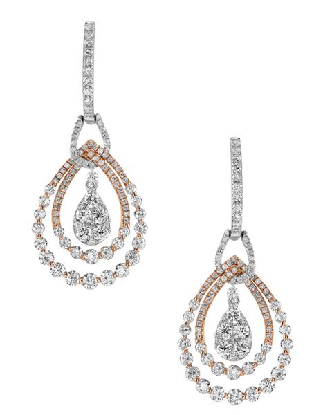 Photo of Round Diamond Earrings