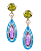 Women's Colourful Stone Earrings