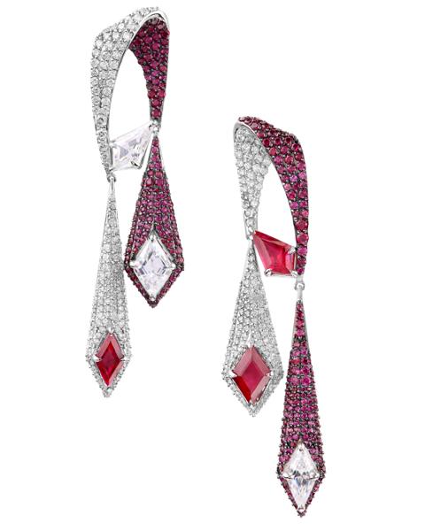 Photo of Ruby Earrings