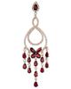 Photo of Chandelier Ruby Earrings