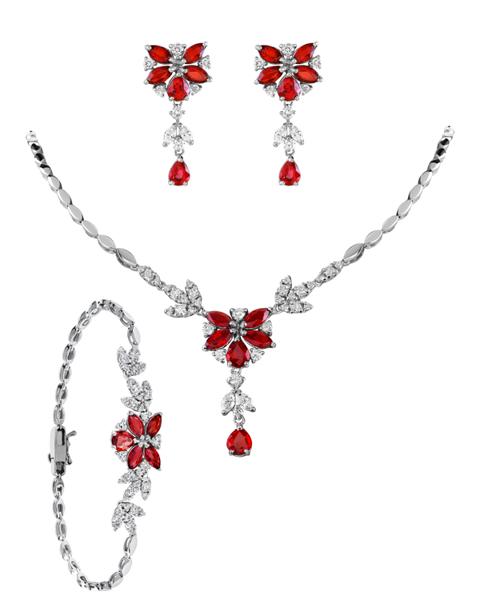 Photo of Ruby Flower Set