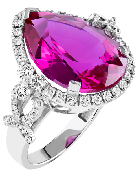 Photo of Pink Stone Ring