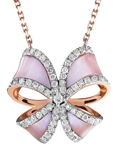 Pink Shell Pendant