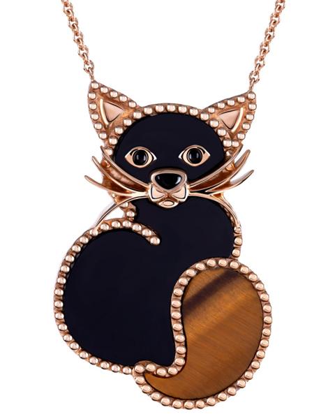 Photo Of Black Cat Pendant