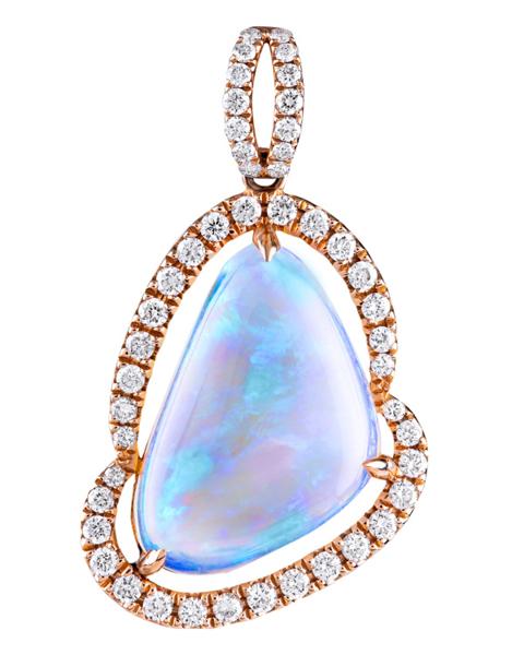 Jewelry Opal Pendant
