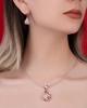 Women's diamond pendant