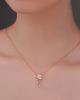 photo of fancy cut diamond pendant
