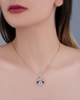 women's jewellery sapphire pendant