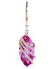 rose gold quartz and diamond earrings