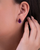 Photo of Amethyst Earring